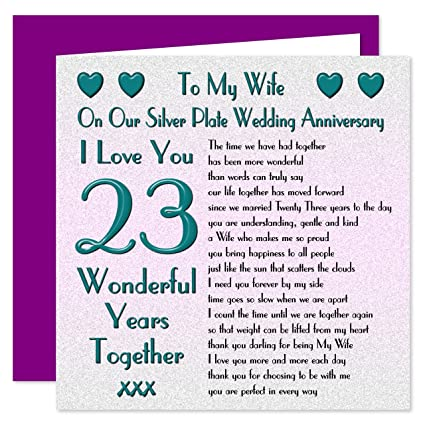 23 Anniversario Di Matrimonio.My Wife Il Anniversario Di Matrimonio On Our Anniversary