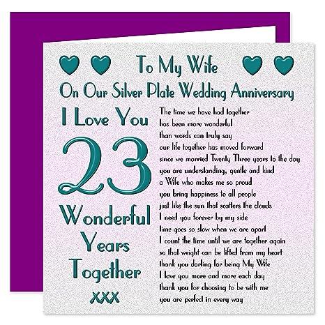 Auguri Anniversario Matrimonio 23 Anni.My Wife Il Anniversario Di Matrimonio On Our Anniversary