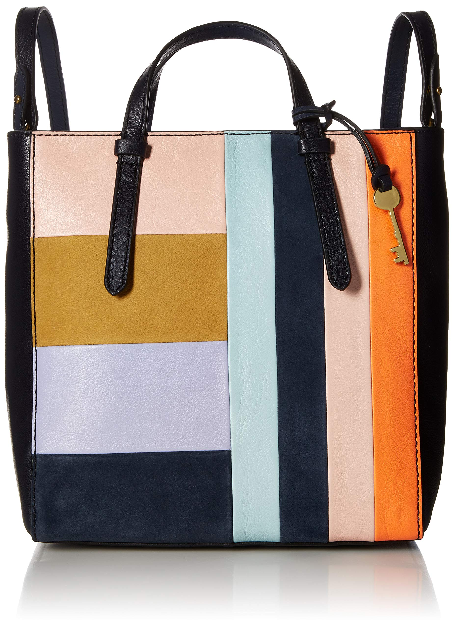 Fossil Womens Camilla Convertible Small Backpack, Bright patchwork by Fossil (Image #1)