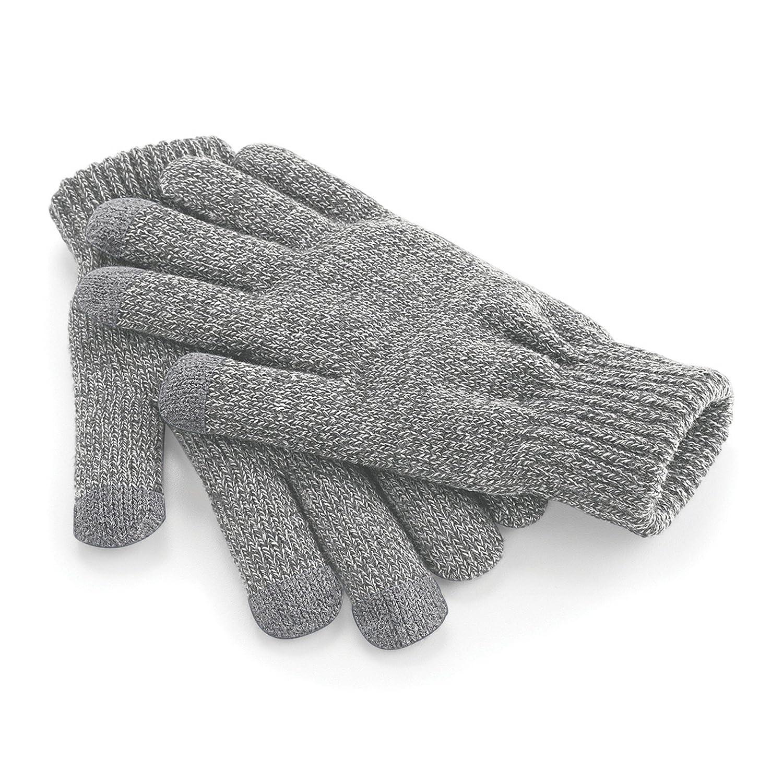 Beechfield Unisex Touchscreen Smart Phone / IPhone / IPad Winter Gloves (L/XL) (Black) UTRW253_2