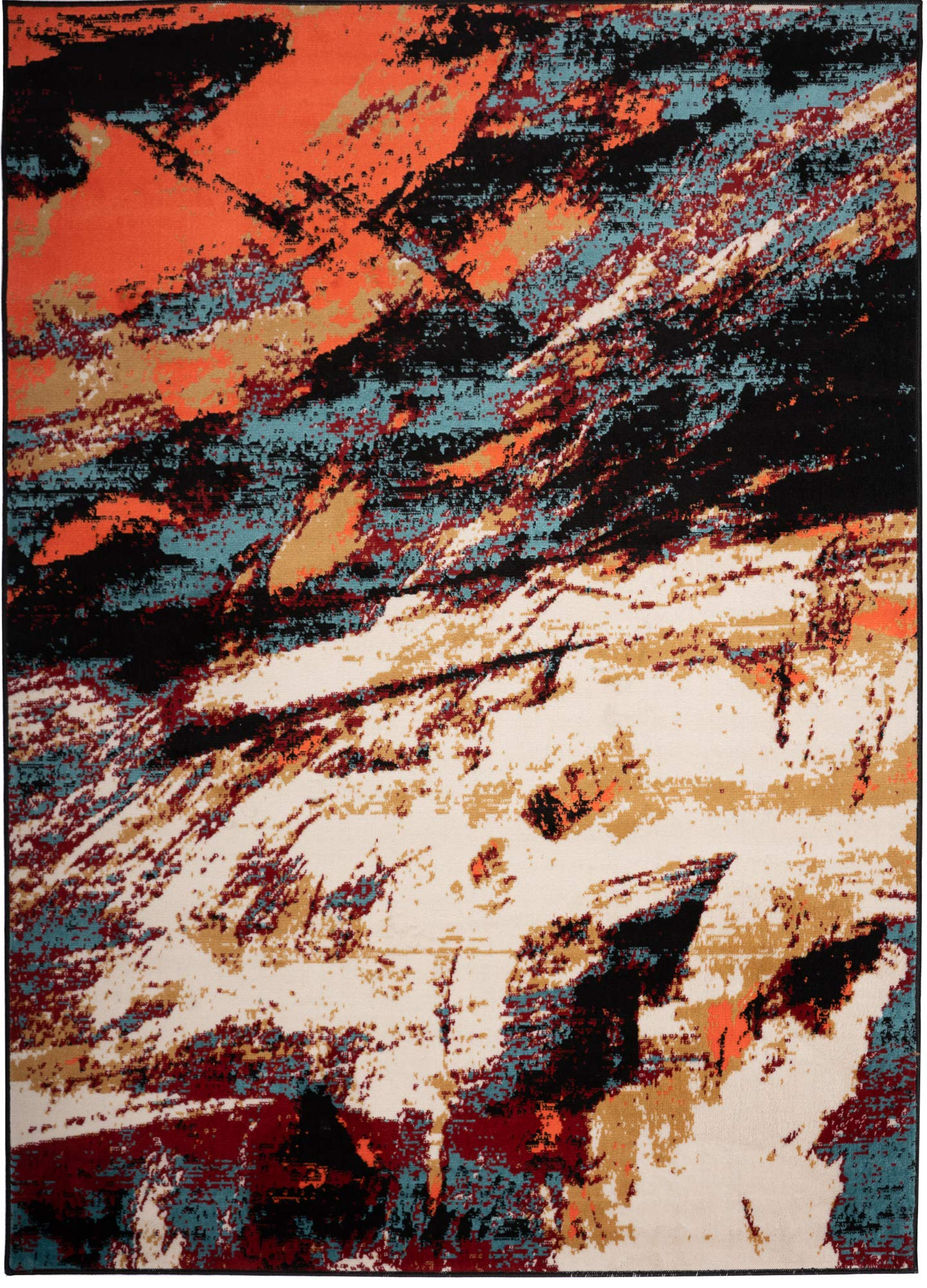 Antep Rugs 666PA Pastel Collection Contemporary