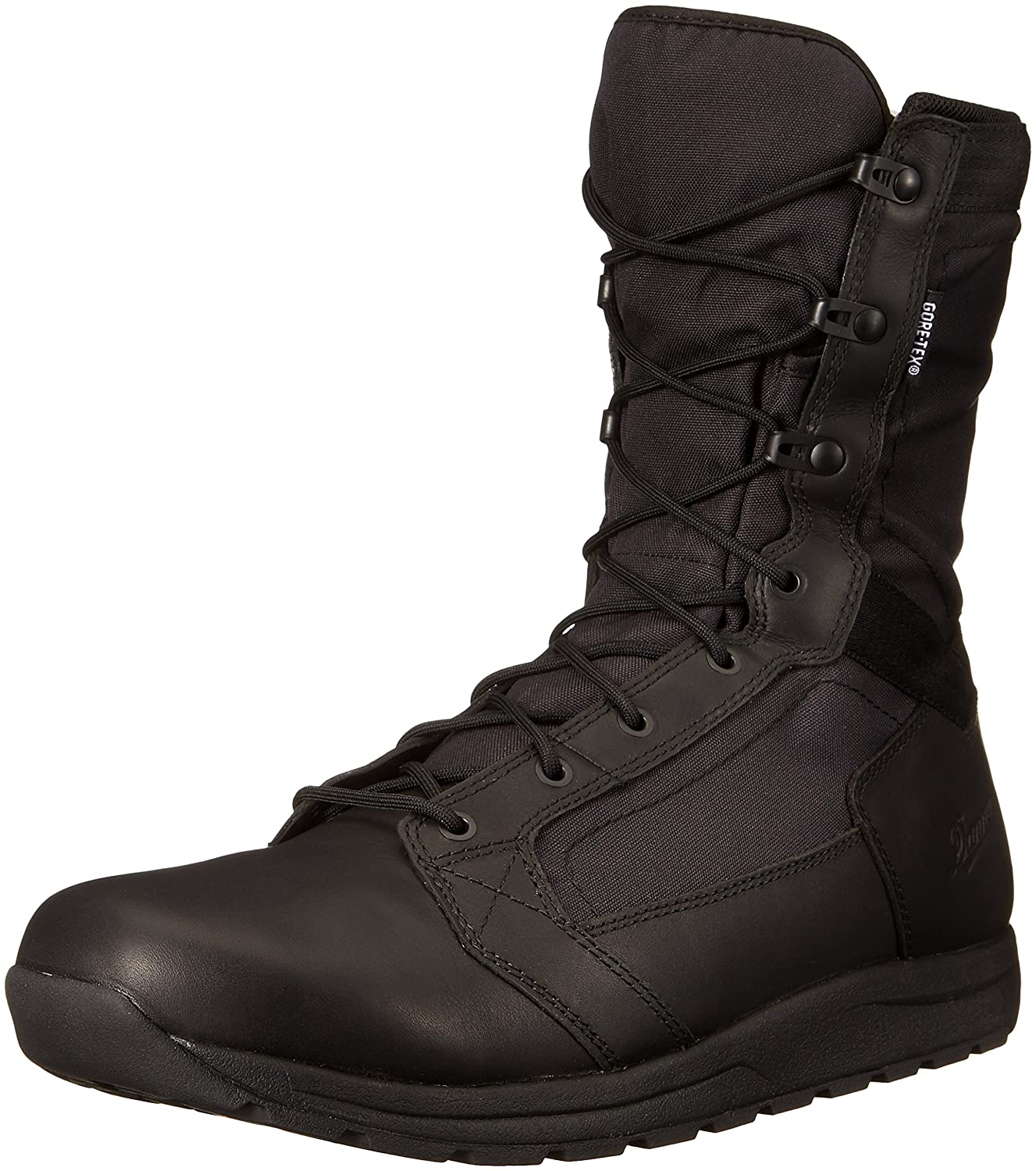 Black Danner Mens Tachyon 8  Black GTX Military & Tactical Boot
