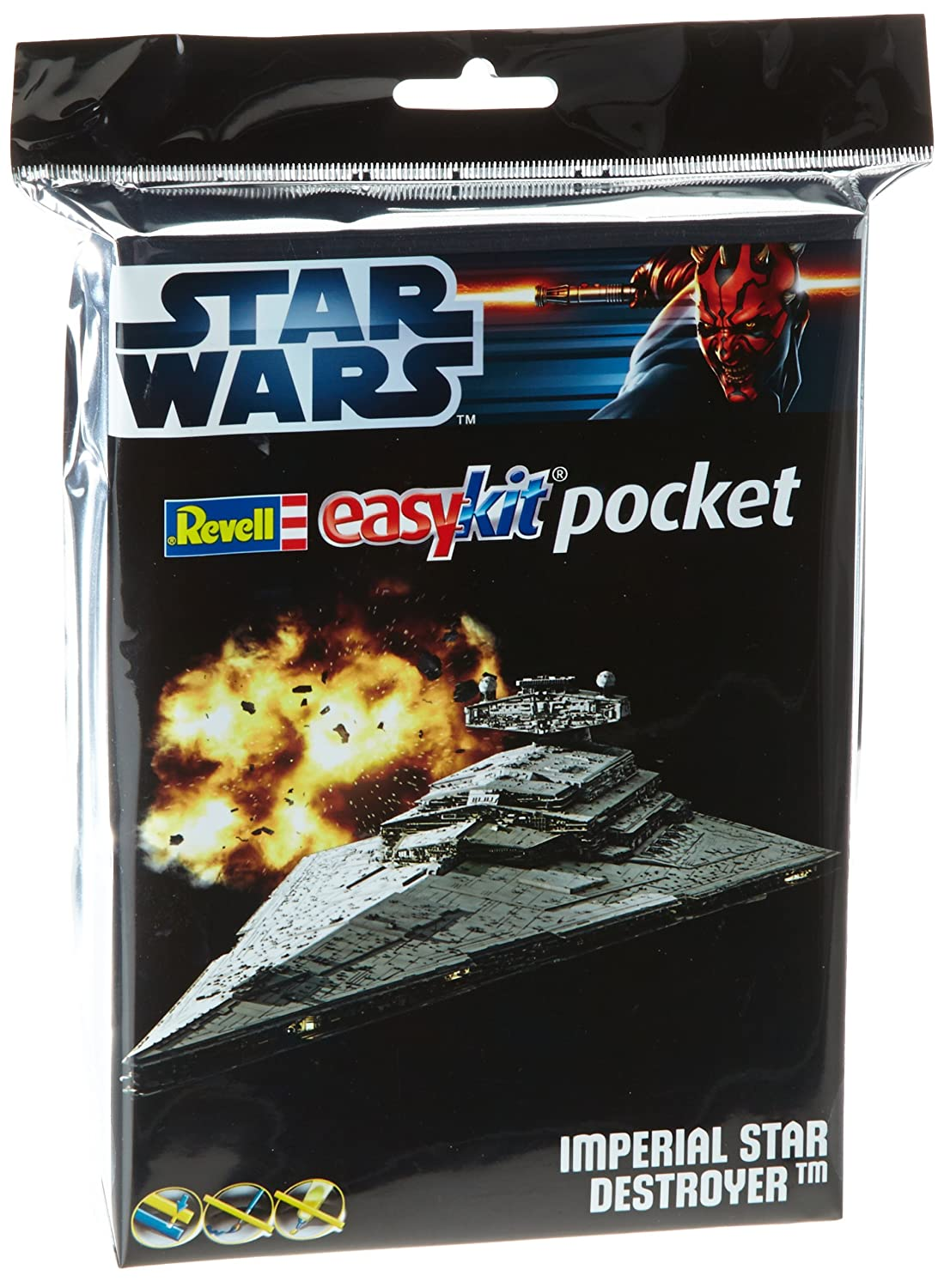 Revell - Maqueta EasyKit Pocket Star Wars Imperial Star Destroyer (06735)