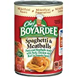 Chef Boyardee Spaghetti & Meatballs, 14.5 Oz. (Pack of 24)