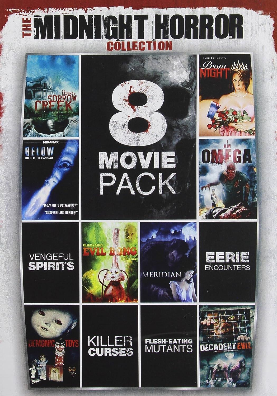 8-Movie Pack Midnight Horror Collection 1 Reino Unido DVD: Amazon.es: Cine y Series TV