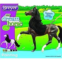 Breyer Horses - Juego de Pintura para niños, Caballo con Crin y Cola de 20,3 cm., Multicolor