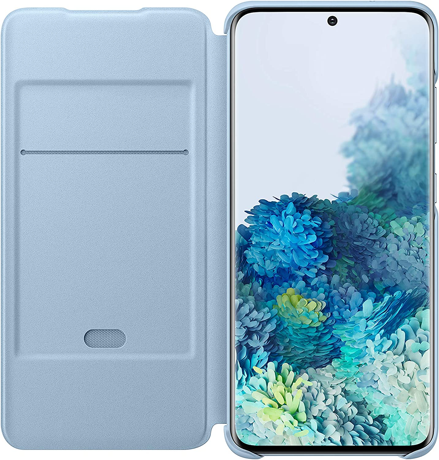 Samsung Led View Cover Ef Ng980 For Galaxy S20 S20 5g Sky Blue Elektronik