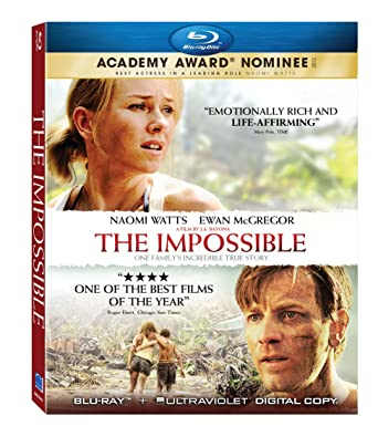 The Impossible 2012 BluRay 720p 800MB Dual Audio ( Hindi – English ) ESubs MKV
