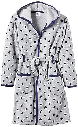 ad9aaf3370dd7 Petit Bateau - Robe de chambre - À étoiles - À capuche - Manches longues -  Garçon: Amazon.fr: Vêtements et accessoires