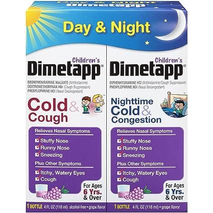 Amazon Dimetapp Childrens Cold Cough Antihistamine Cough
