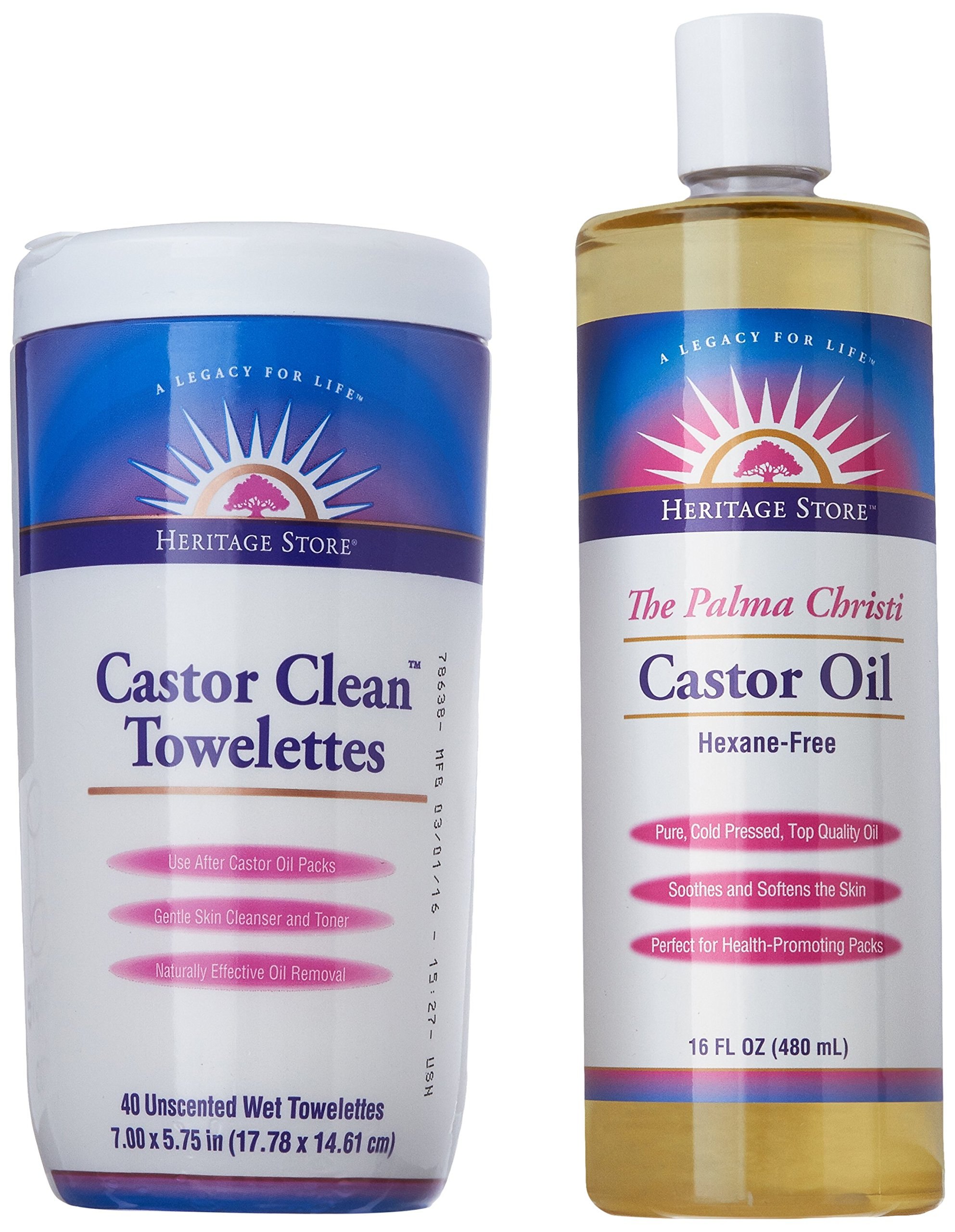 Heritage Store Castor Oil Pack Kit by Heritage Store (Image #6)