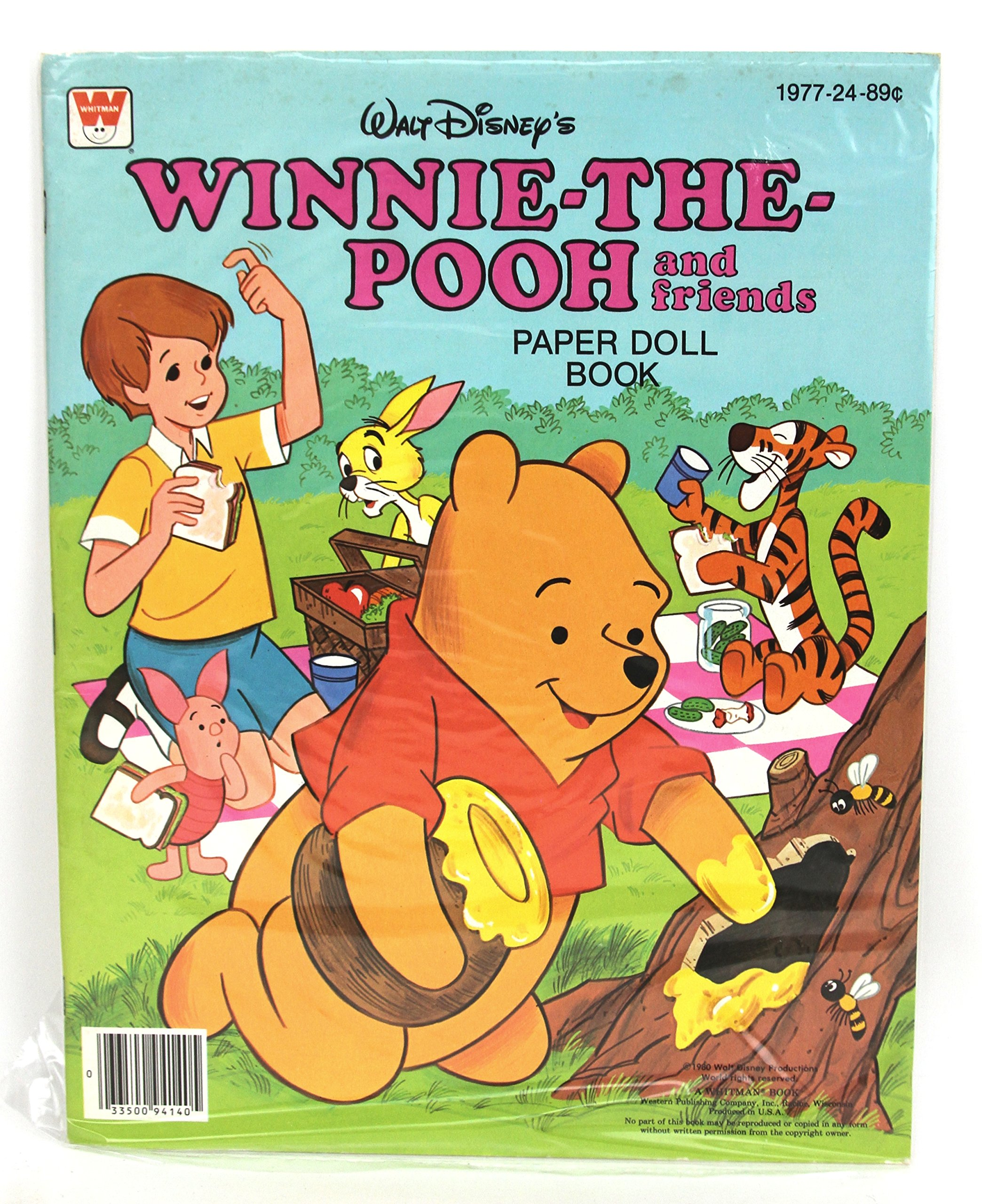 91d5455bc126 WALT DISNEY S WINNIE-THE-POOH AND FRIENDS PAPER DOLL BOOK  PAPERDOLL   Paperback – 1980