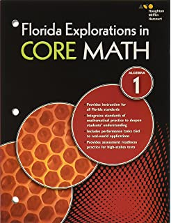 Amazon explorations in core math common core student edition hmh algebra 1 exploration in core math florida common core student workbook fandeluxe Image collections