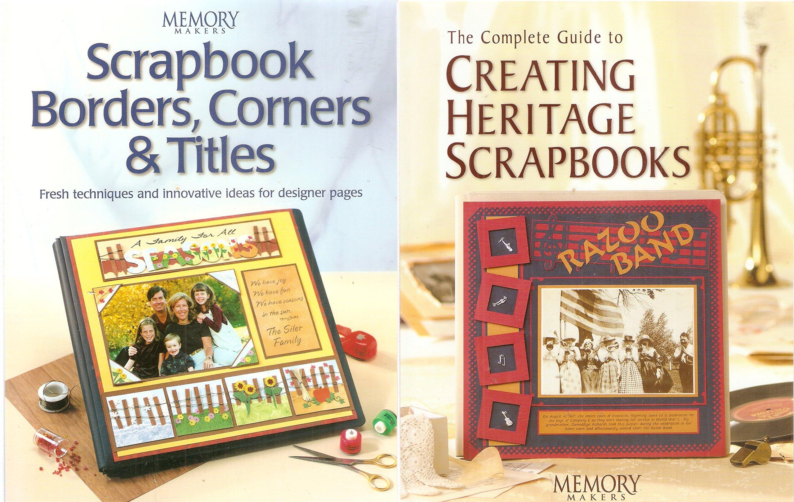 Scrapbook Borders, Corners & Titles (Memory makers)