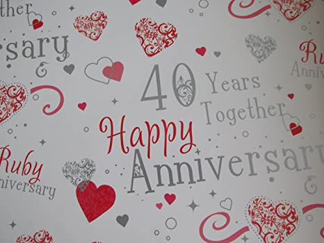 Anniversario Di Matrimonio 40 Anni Regali.Regalo 40 Anni Di Matrimonio
