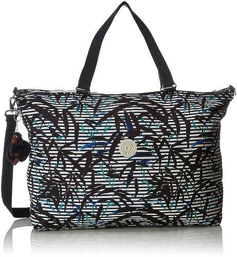 Amazon.com: Kipling Women s XL bolsa de hombro rayas de ...