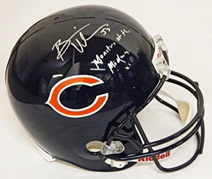 a26d4537a4d Image Unavailable. Image not available for. Color  Brian Urlacher  Autographed ...