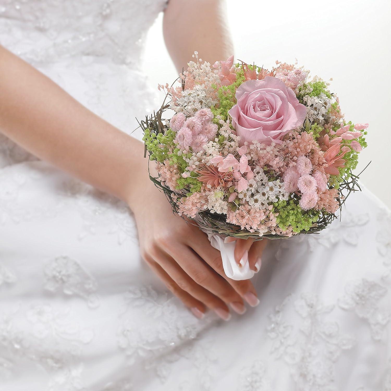 Sanremo fiori essiccati dalla Riviera dei Fiori con rosa stabilizzata /… Bouquet Garden Giallo