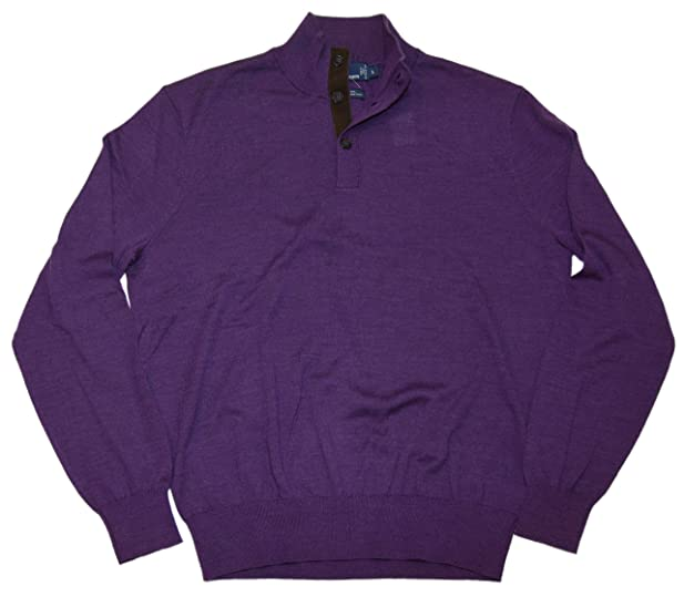 Polo Ralph Lauren Mens Merino Wool High Collar Pullover Sweater ...