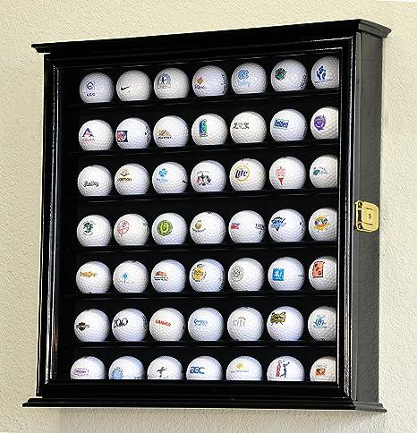 49 pelota de golf vitrina armario soporte rack w/Protección UV ...
