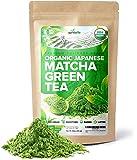AprikaLife - Organic Japanese Matcha Green Tea Powder – USDA & JAS Organic - Authentic Japanese Origin - Premium…