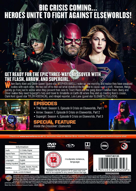 Amazon com: Elseworlds: Part 1-3 [DVD] [2019]: Movies & TV
