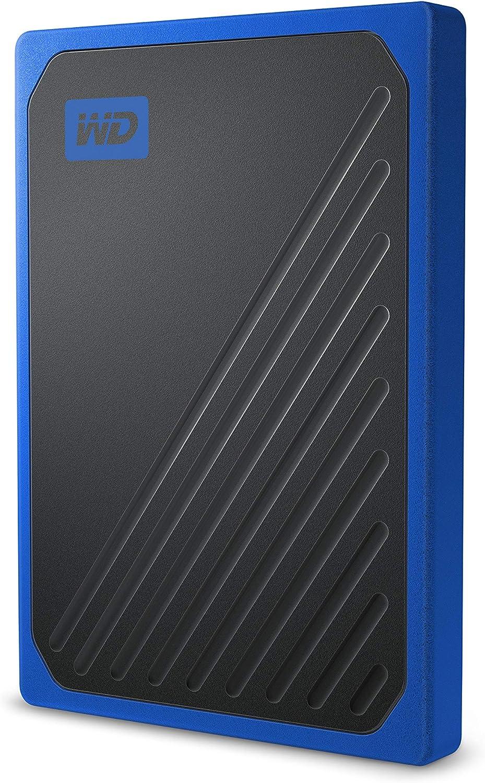 WD My Passport Go 2 TB, Disco duro sólido externo, acabado Cobalto ...