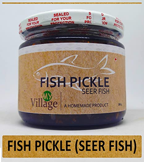 My Village Seer Fish Pickle / Homemade Preservative Free Fish Pickle