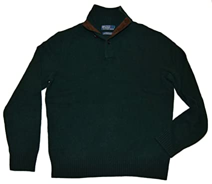 e51686d67 Ralph Lauren Polo Mens Merino Wool Angora Rabbit Half-Zip Sweater ...