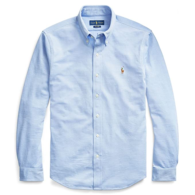 b4530170b Polo Ralph Lauren Camisa Button Down Tejido oxfod Classic Fit  Amazon.es   Ropa y accesorios