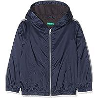 United Colors Of Benetton Penye Astarlı Yağmurluk Erkek Çocuk Kar Ve Yağmur Kıyafeti