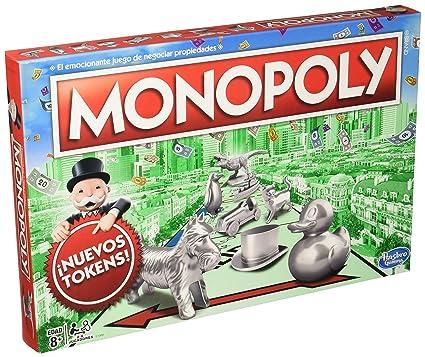 Hasbro Gaming Juego De Mesa Monopoly Clasico Amazon Com Mx Juegos