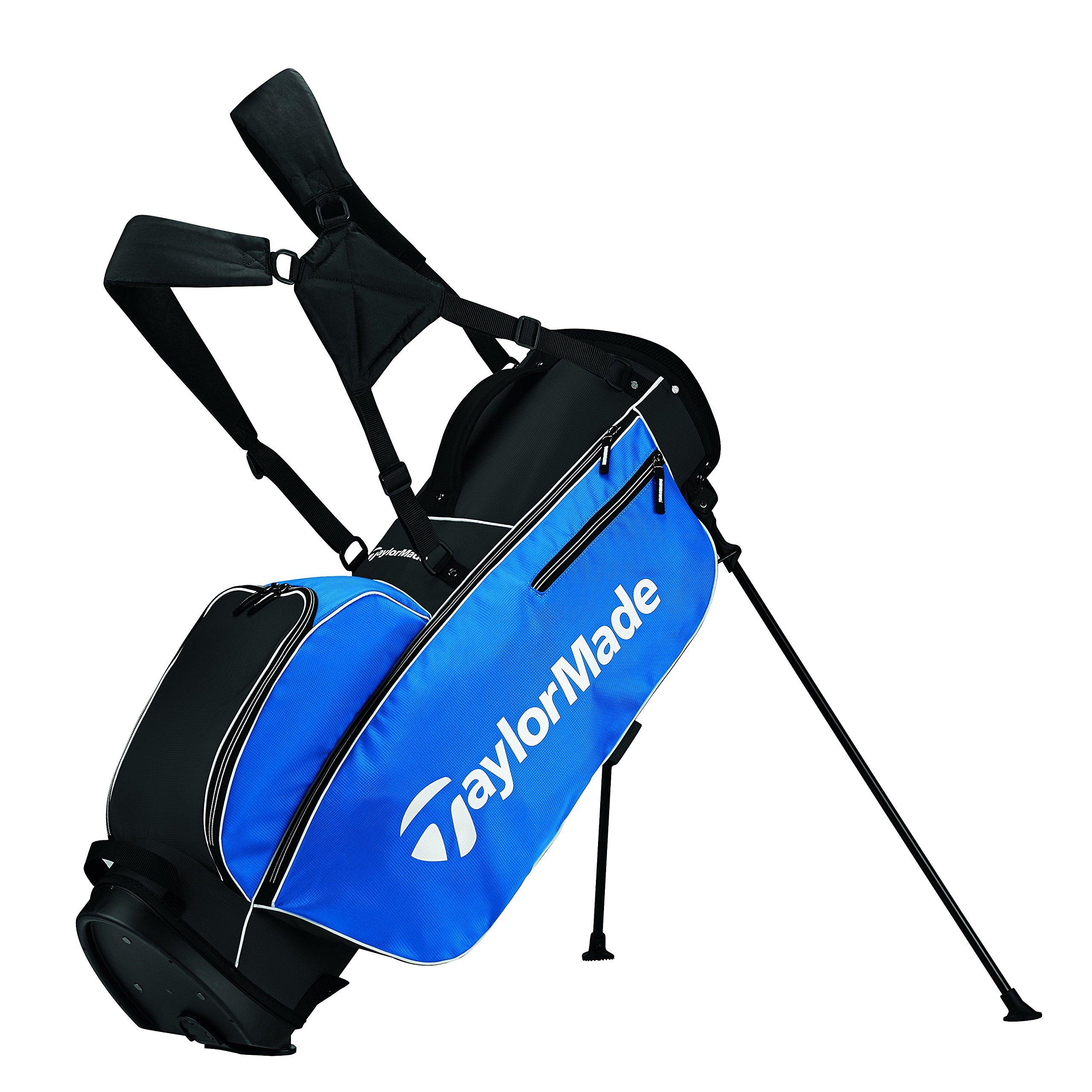 TaylorMade 2017 TM 5.0 Stand Golf Bag, Blue/Black/White
