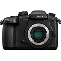 Panasonic Lumix DC-GH5EG-K Systemkamera (20 MP, Dual I.S., 4K60p Video, 4K/6K, wetterfestes Magnesiumgehäuse, schwarz)