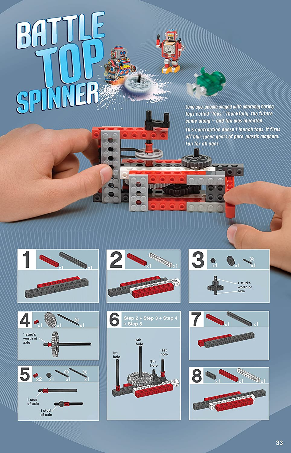 Amazon: Klutz Lego Chain Reactions Craft Kit: Pat Murphy And The  Scientists Of Klutz Labs: Toys & Games