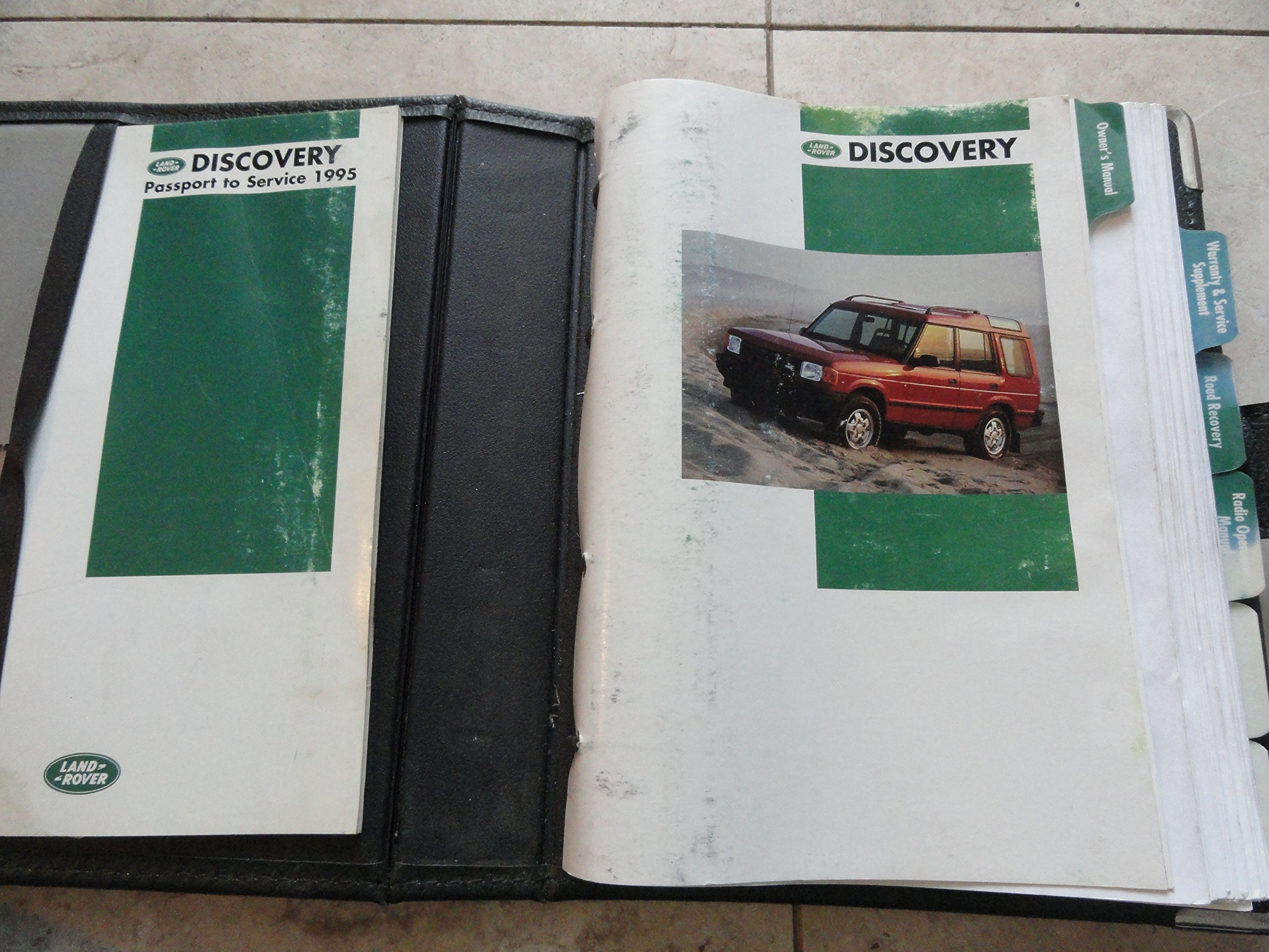 1995 Land Rover Discovery Owners Manual: Land Rover: Amazon