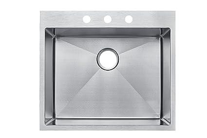 Kitchen Sink 25 X 22 Starstar 25 x 22 top mount drop in single bowl kitchen sink 304 starstar 25 x 22 top mount drop in single bowl kitchen sink 304 workwithnaturefo