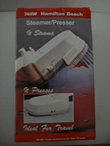 Hamilton Beach Steamer/Presser: Ideal For Travel