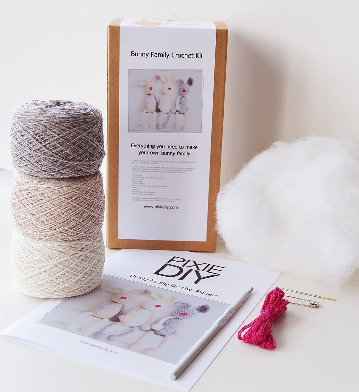 Amigurumi Bunny Family Crochet Pattern Printable PDF | Crochet ... | 1500x1373