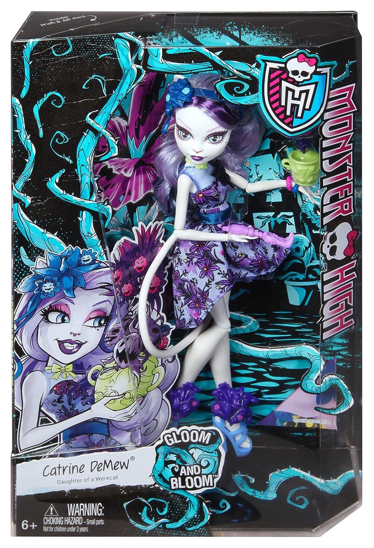 Catrine demew popular catrine demew doll buy cheap catrine demew doll - Amazon Com Monster High Gloom N Bloom Catrine Demew Doll Toys Games