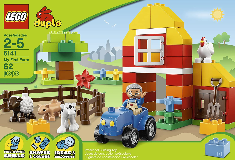 Lego duplo farm building set for Adventskalender duplo