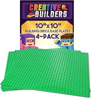 Creative Builders   4-Pack Sets of X Large Green Building Brick Baseplates (Giant  sc 1 st  Amazon.com & Amazon.com: Cranium Super Fort Ocean Adventure Fort: Toys u0026 Games