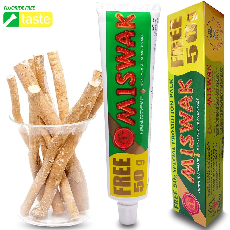 Dentifrico siwak miswak pack 170g DABUR: Amazon.es: Salud y cuidado personal