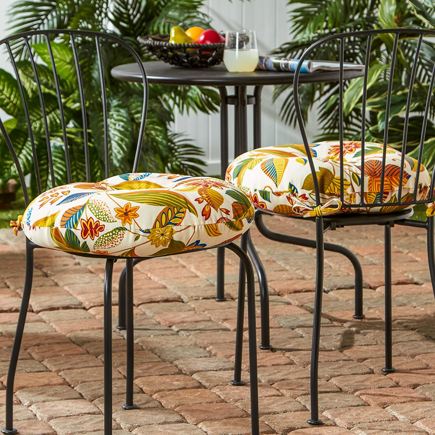 Amazon Greendale Home Fashions 18 in Round Outdoor Bistro