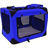 X Large Dog Pet Folding Canvas Carrier Transport Crate Xxl