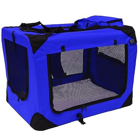 MOOL - Caja transportadora de Tela Ligera para Mascotas, Jaula con ...