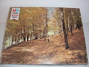 Vermont Woods Milton Bradley Vintage Nature Series 1000 Piece Puzzle