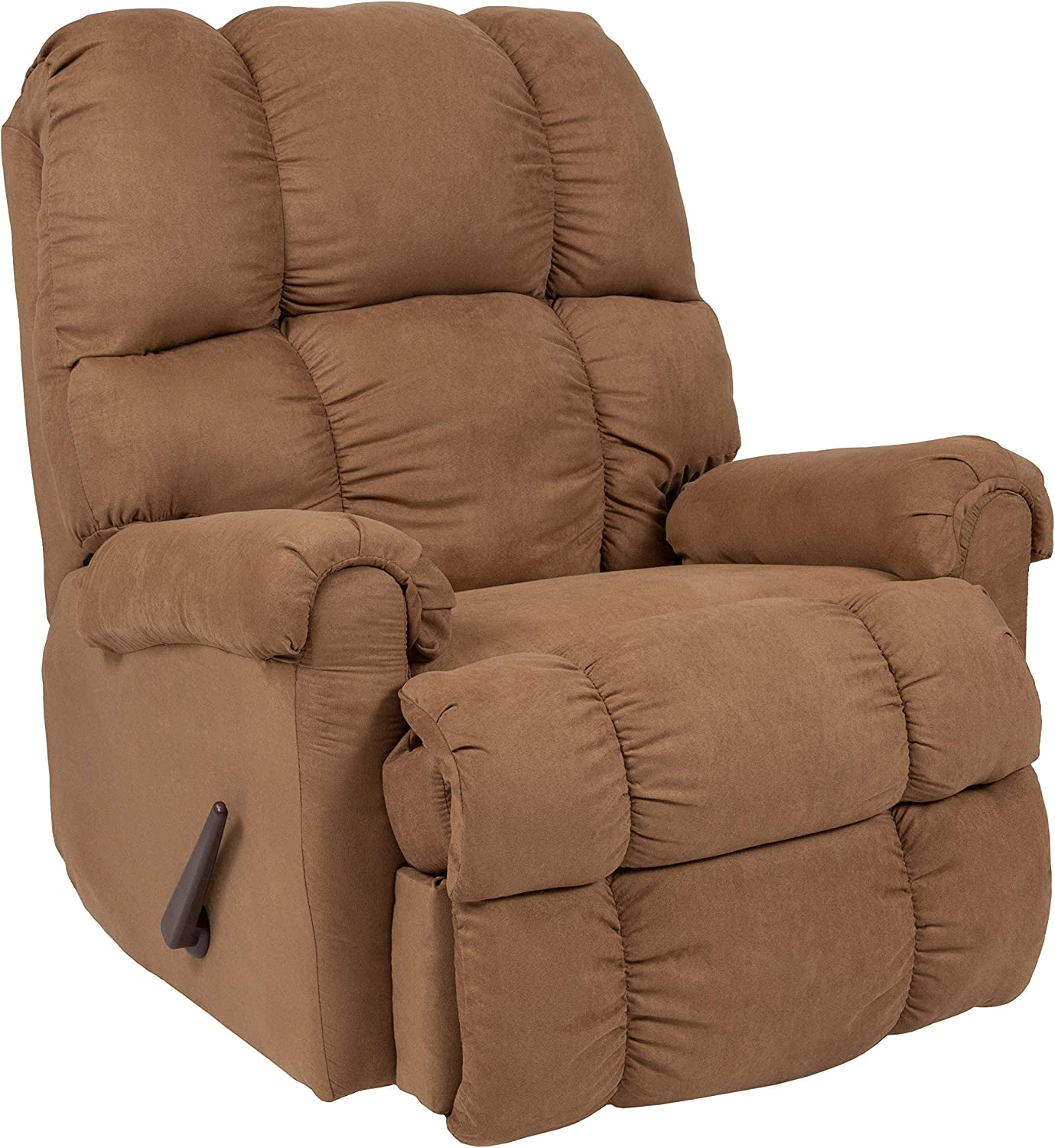 Flash Furniture Sierra Camel Microfiber Rocker Recliner
