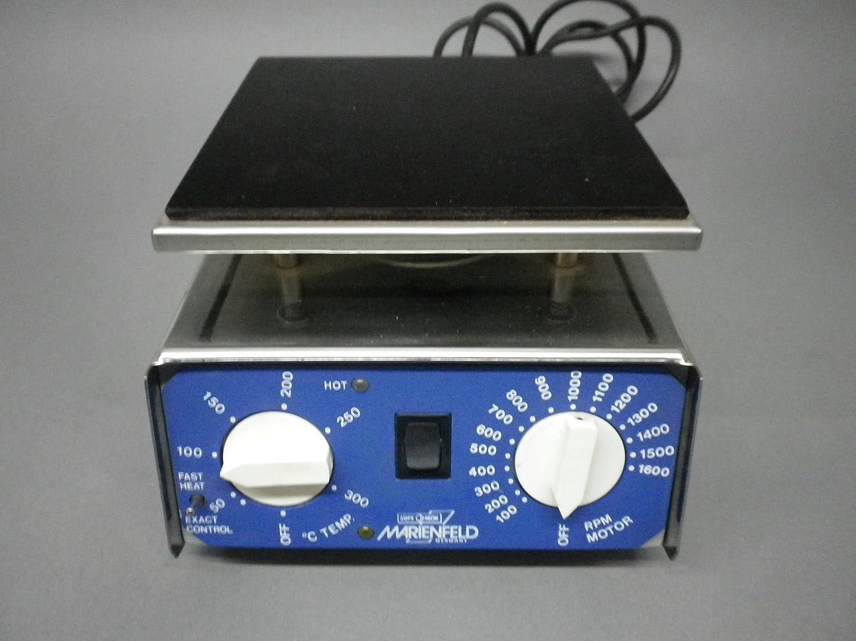 Marien quemador® Agitador magnético 300 °C Calefacción Placa ...