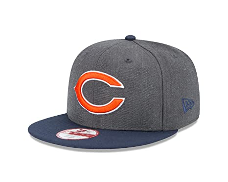 37250c1b783 Amazon.com   NFL Chicago Bears New Era Heather Graphite 9FIFTY ...